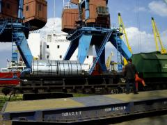 Sea container transportation of goods