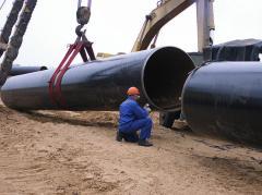 Строительство стальных трубопроводов диаметром от