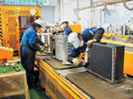 Processing of household appliances