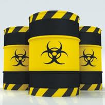 Utilization of dangerous wastes