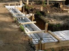 Услуги по опалубке для бетонных работ