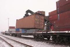 Услуги железнодорожных перевозок