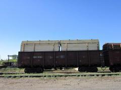 Железнодорожный тупик в Павлодаре, железнодорожный