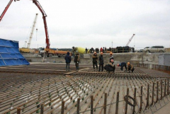 Работы бетонные
