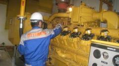 Repair of diesel generators and special equipmen