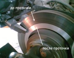 Pro-point of brake disks in Uralsk