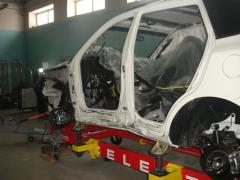 Works body and painting of cars in Uralsk