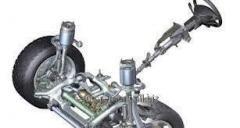 Repair of steering racks (hydraulic, mechanical)