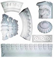 Изготовление скульптурных элементов декора в