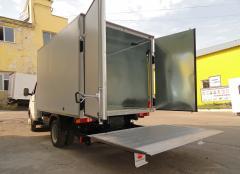 Изготовление фургонов грузовых автомобилей под