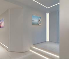 Illumination of facades, lighting of buildings,