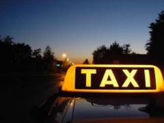 Услуги маршрутных такси,  Такси
