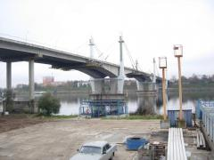Construction of bridges railway