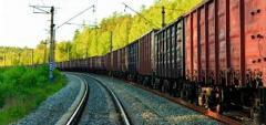 Cargo delivery zhd transpor
