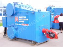 Repair of industrial boilers