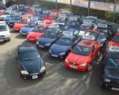 Sale of second-hand cars from the USA