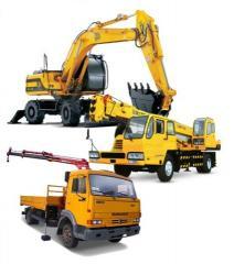 Сервисное обслуживание грузоподъемных строительных машин