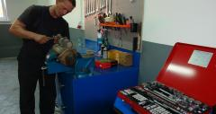 Repair of electric equipment, Auto electrician,