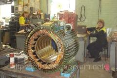 Repair and rewind of electric motors and generators