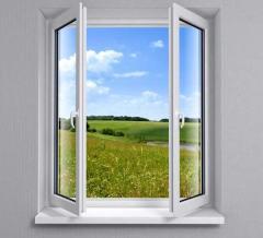 Diagnostics of plastic windows