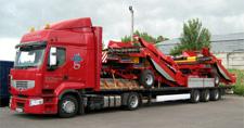 Design cargo transportation