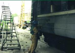 Очистка термоабразивная металлических поверхностей