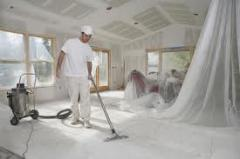 Cleaning of rooms after repair of ALMATY