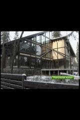 The glass house, in style Fakhverk