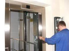 Installation of an elevator shaft, Installation of
