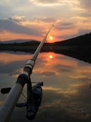 Rest and fishing in Kazakhstan
