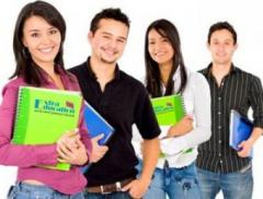 English language courses in group