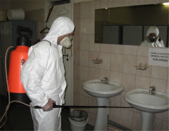 Disinsection of rooms in Almaty, Nadezhda LLP and
