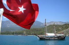 Delivery of a combined load from Turkey
