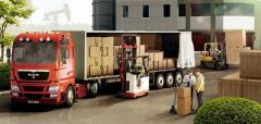 Delivery of the consolidated loads from Turkey