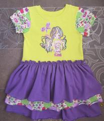 Пошив детской одежды из трикотажа