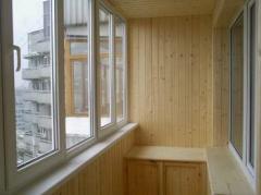 Остекление лоджий и балконов ПВХ окнами