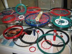 Изготовление деталей под заказ, Уплотнения, Изготовление манжет и колец