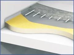 Floor thermal insulation, floor Thermal insulation