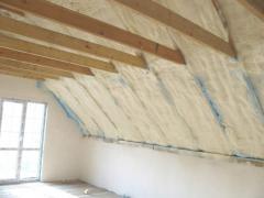 Утепление стен, крыш, потолков, чердака, мансарды