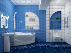 Дизайн ванной в г. Астана