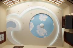 Дизайн потолков в г. Астана