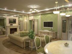 Дизайн освещения в г. Астана