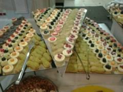 Buffet receptions, Organization of buffet