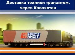 Delivery of equipment from the People's Republic