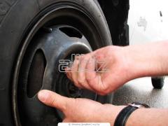 Шиномонтаж, балансировка, ремонт автомобильных колес