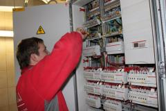 Installation of panel board electric equipmen