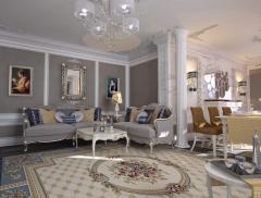Дизайн-проекты квартир в г. Астана