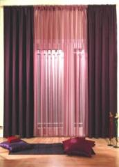 Restoration of curtains in Astana
