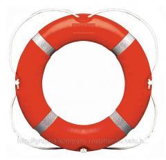 Освидетельствование круга спасательного.