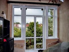 Metalplastic and aluminum windows, doors,